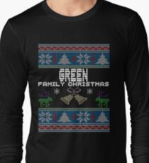 Green Ugly Family Christmas Gift Idea T-Shirt