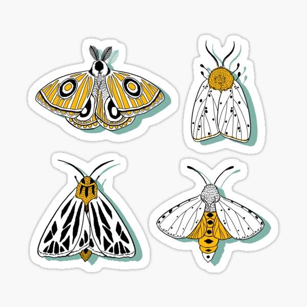 MAGIC MOTHS Sticker