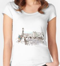 Redfool.com Graphic Women's Fitted Scoop T-Shirt