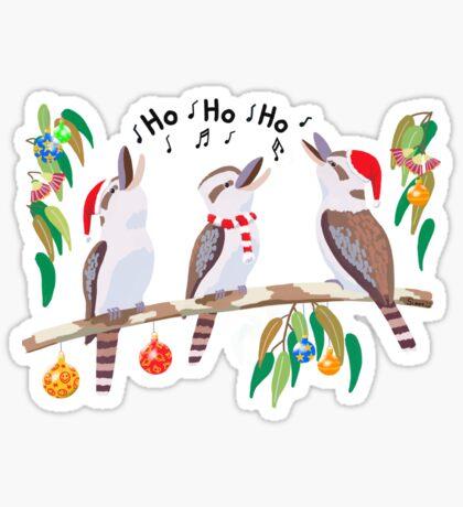 Kookaburras Australian Christmas Carols  Sticker