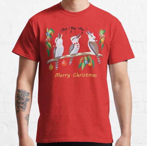 Kookaburras australische Weihnachtslieder Classic T-Shirt