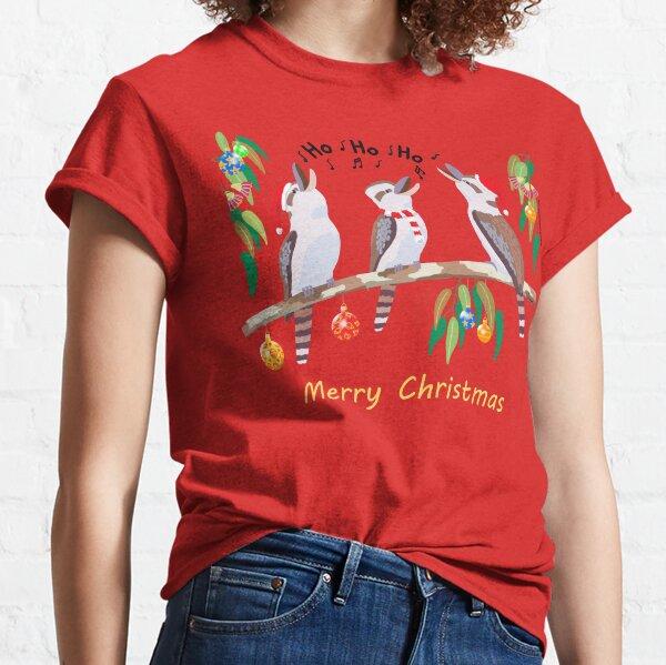 Kookaburras Australian Christmas Carols  Classic T-Shirt