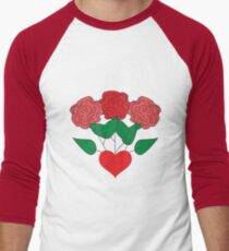 Red Roses & Love Heart T-Shirt
