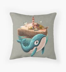 Adventure Begins Throw Pillow