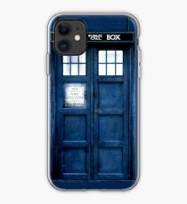 Doctor Who Christmas Tardis iphone case