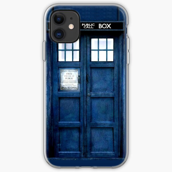 Doctor Who Tardis Phone Case iPhone Soft Case