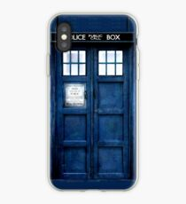 Doktor Who Tardis Telefon-Kasten iPhone-Hülle & Cover
