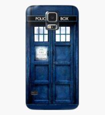 Doktor Who Tardis Telefon-Kasten Hülle & Klebefolie für Samsung Galaxy