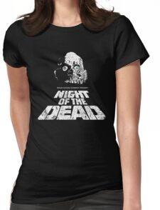 NIGHT OF THE DEAD Womens Fitted T-Shirt