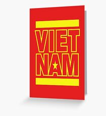 VIETNAM Greeting Card