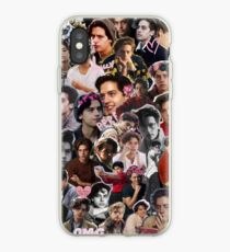 Vinilo o funda para iPhone Cole Sprouse Collage 2