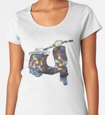 Paul Klee Vespa scooter Women's Premium T-Shirt