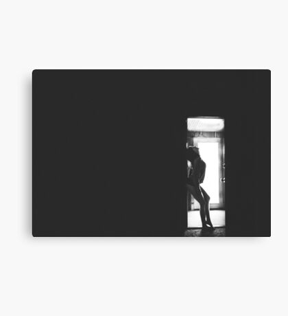 Missing you.. Canvas Print