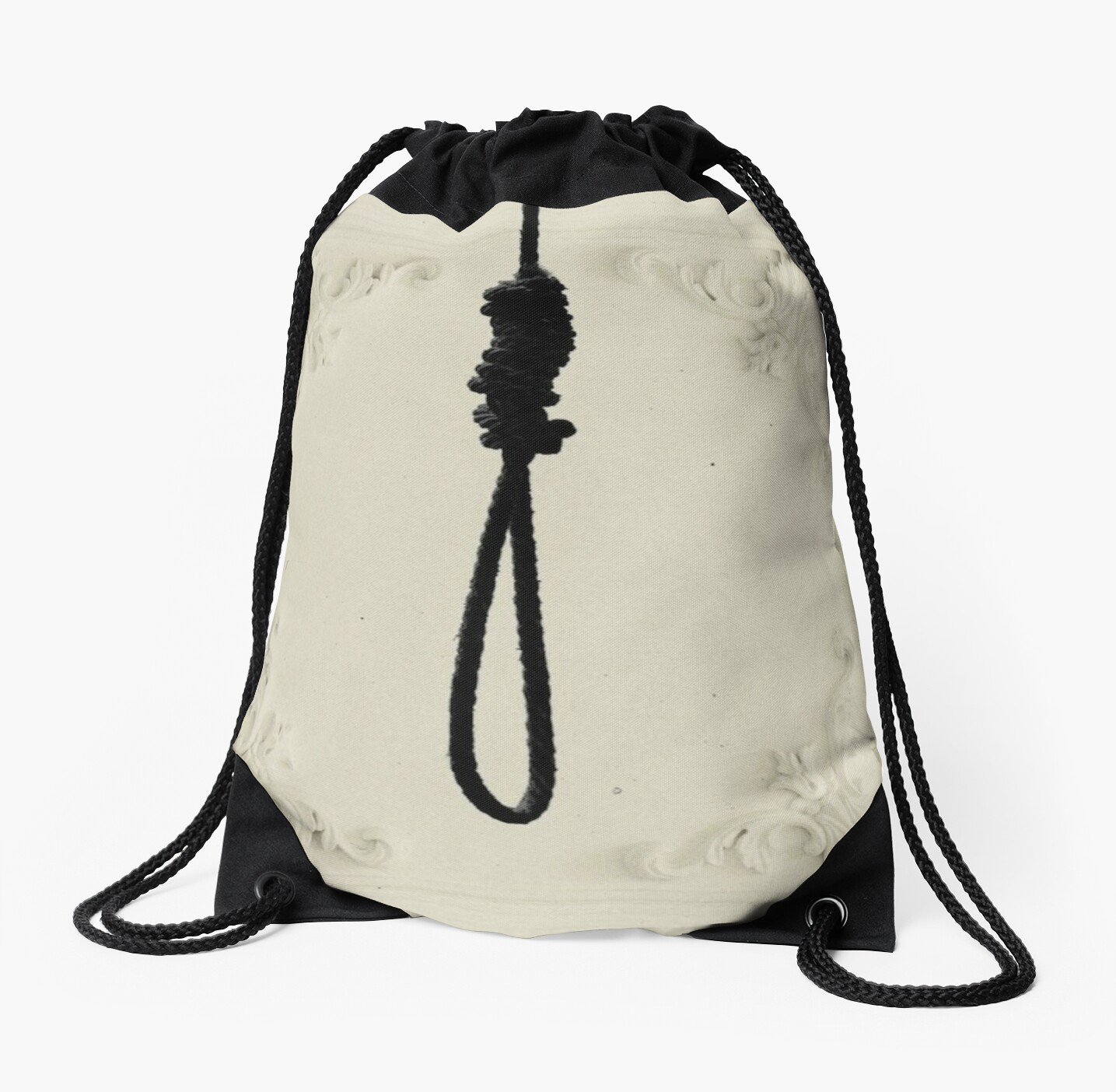 cashmere noose drawstring bags by subwaycar redbubble