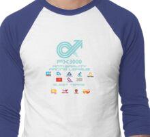 WipEout - FX3000 League Men's Baseball ¾ T-Shirt