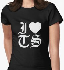 reputation I HEART TS Women's Fitted T-Shirt