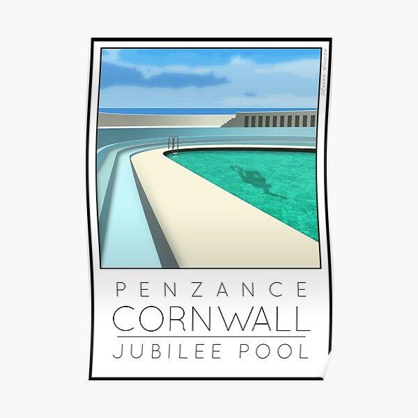 Lido Poster Penzance Jubilee Poster