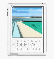 Lido Poster Penzance Jubilee iPad Case/Skin
