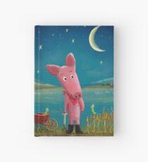 farmer pig Hardcover Journal