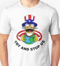 Try And Stop USA! Unisex T-Shirt