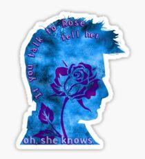 Ten & Rose Sticker