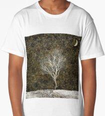 Golden Moonlight Long T-Shirt