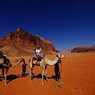 WADI RUM CAMEL RIDE by BYRON