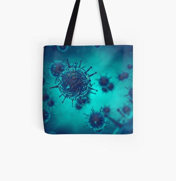 Viral disease All Over Print Tote Bag