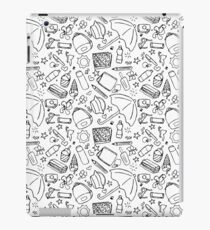 Travel time pattern iPad Case/Skin
