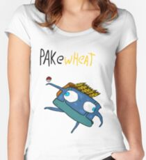 Pakewheat Women's Fitted Scoop T-Shirt