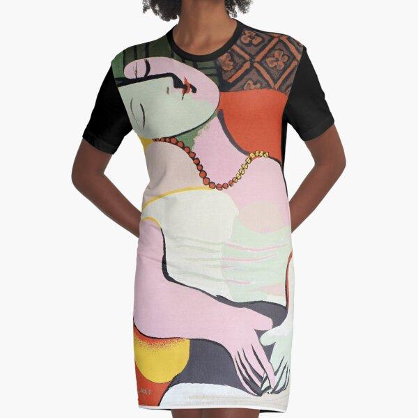 """Le Rêve (""""Der Traum"""") - Pablo Picasso T-Shirt Kleid"""