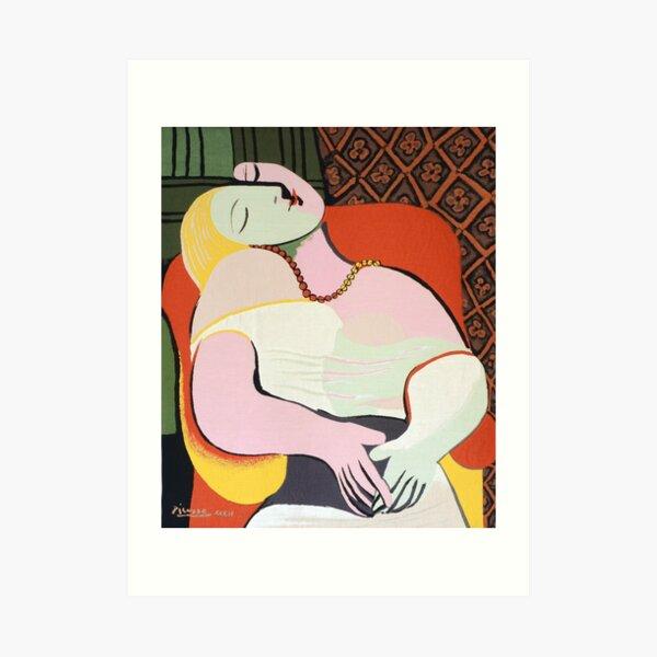 """Le Rêve ( """"The Dream"""")- Pablo Picasso Art Print"""