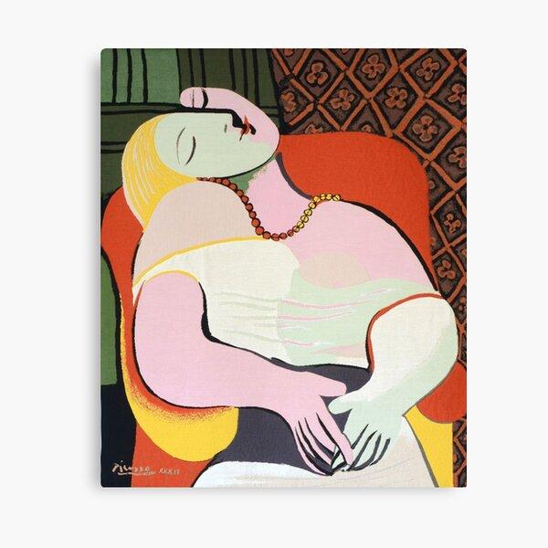 """Le Rêve (""""El sueño"""") - Pablo Picasso Lienzo"""