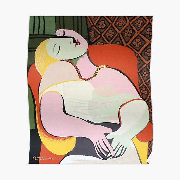 """Le Rêve ( """"The Dream"""")- Pablo Picasso Poster"""