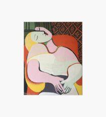 """Le Rêve ( """"The Dream"""")- Pablo Picasso Art Board"""