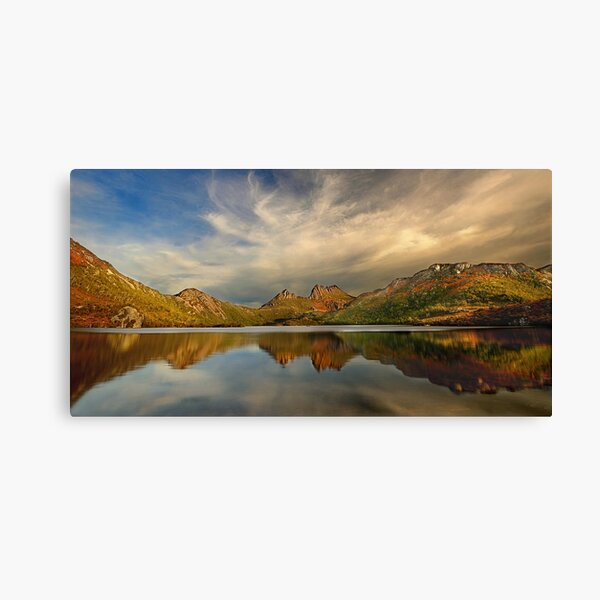 Afternoon light,  Dove Lake Canvas Print