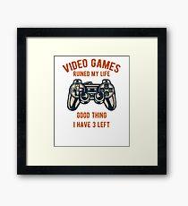 Video Games / Video Gamers Framed Print