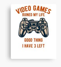 Video Games / Video Gamers Canvas Print