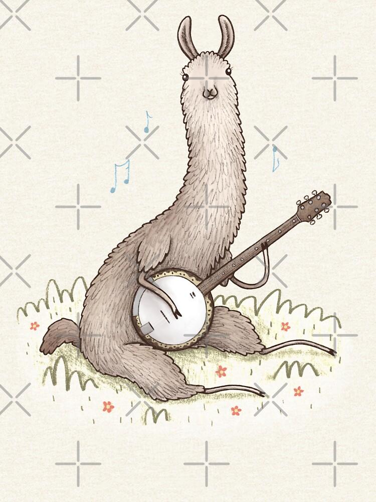 Banjo Llama de SophieCorrigan