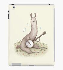 Banjo Llama iPad Case/Skin