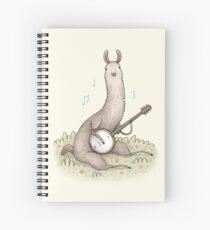 Cuaderno de espiral Banjo Llama
