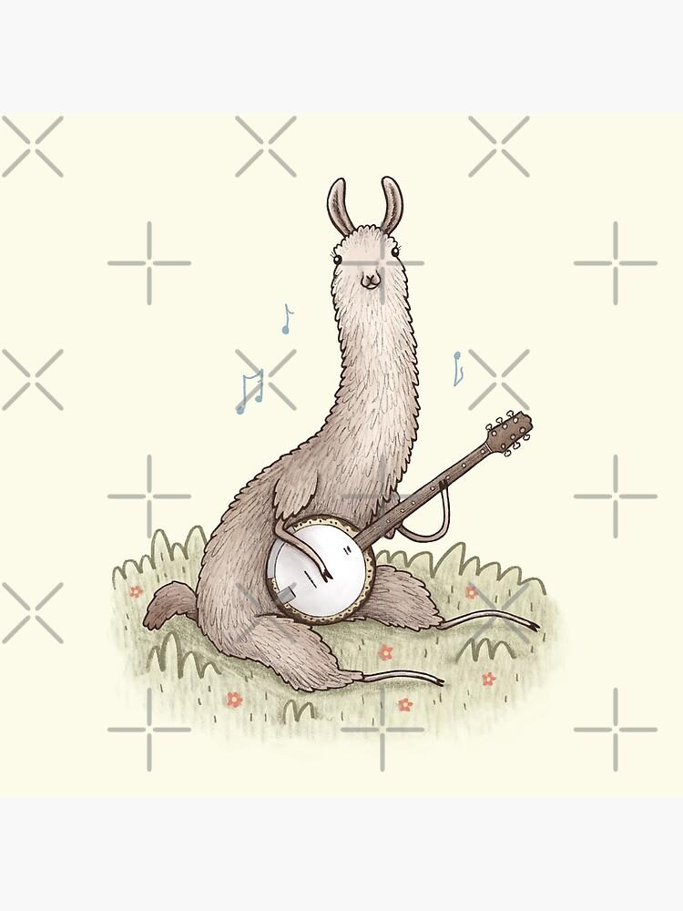 Banjo Llama by SophieCorrigan