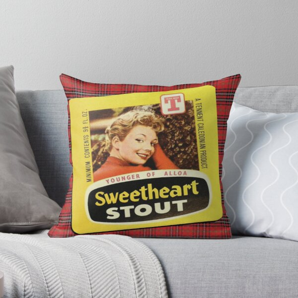 Scottish Classics - Sweetheart Stout Throw Pillow