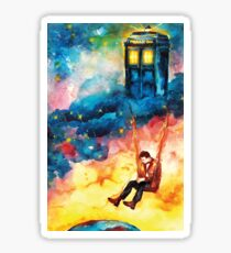 The Man Who Lived On A Cloud - Doctor Who Sticker
