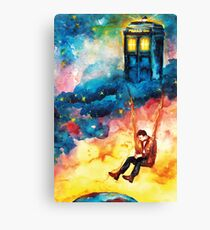 The Man Who Lived On A Cloud - Doctor Who Canvas Print
