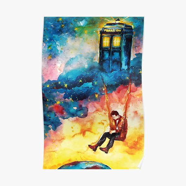 Doctor Who - The Man Who Lived On A Cloud Poster