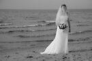 Alicia Wedding Beach Shoot by Michael Rowley