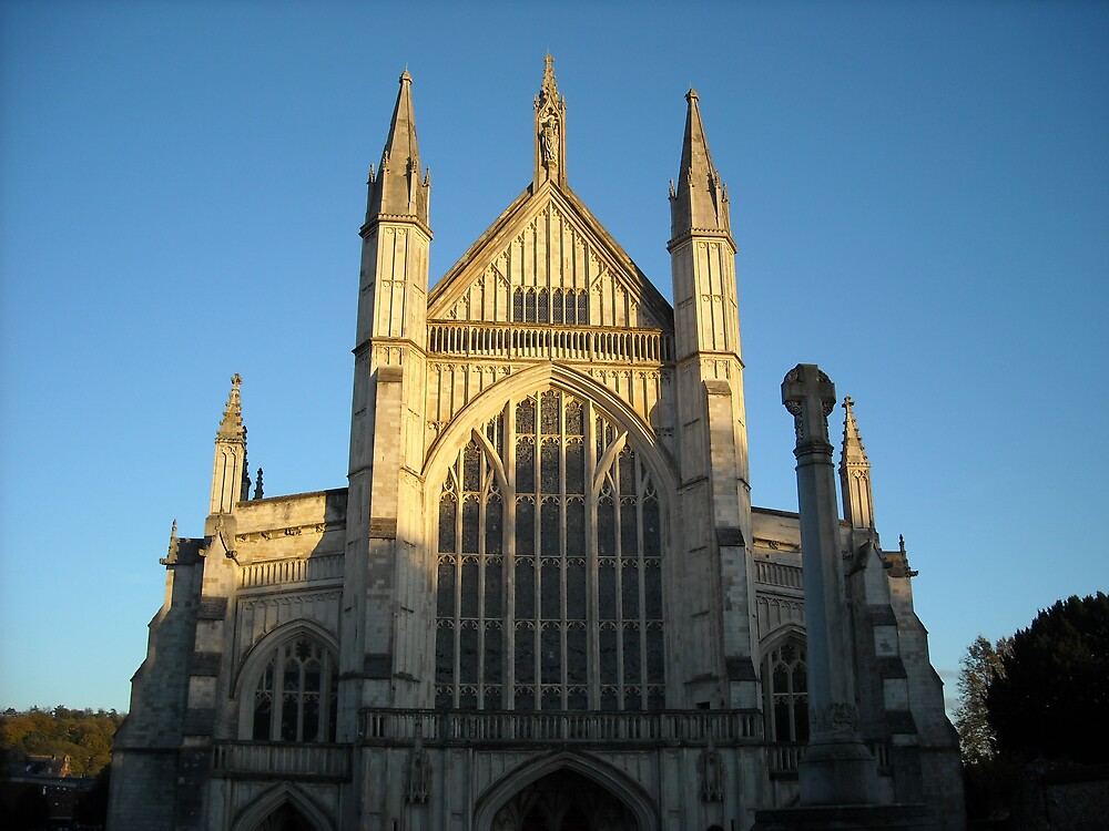 Winchester Cathedral by Rachel Harris