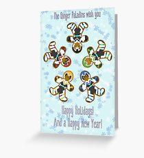 Ginger Paladins S1-2 Version Greeting Card