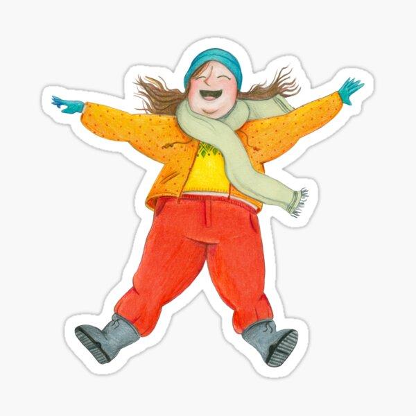 Snowangel Sticker